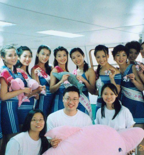 Miss Hong Kong 參與海豚哥哥觀豚